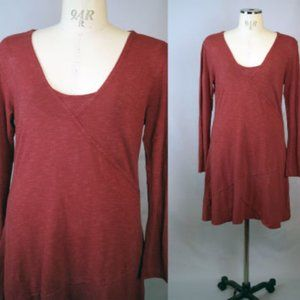 Horny Toad Red Heather L Casual Dress
